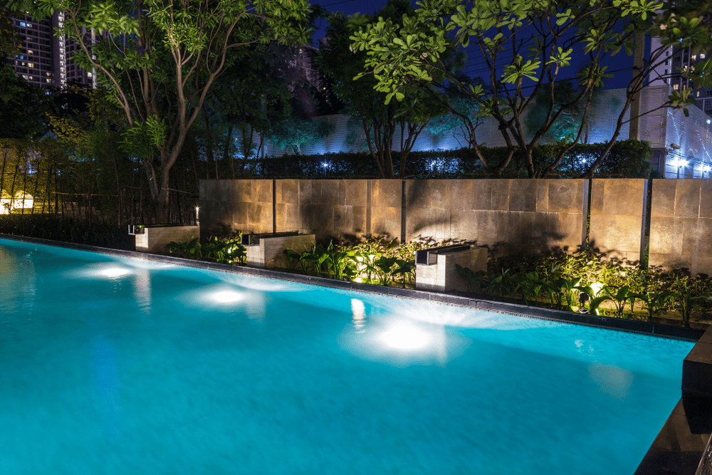 Pool lighting design Infinity Edge Pool Pinterest Best Led Pool Light Buying Guide And Reviews For 2019