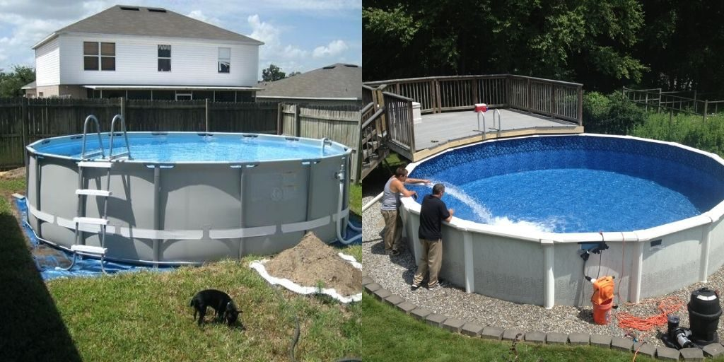 How to Level Above Ground Pool Already Up?