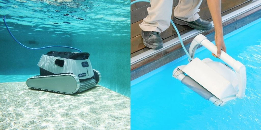 Above Ground Pool Robotic Cleaner