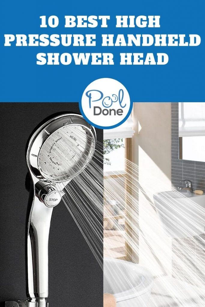 Best High Pressure Handheld Shower Head