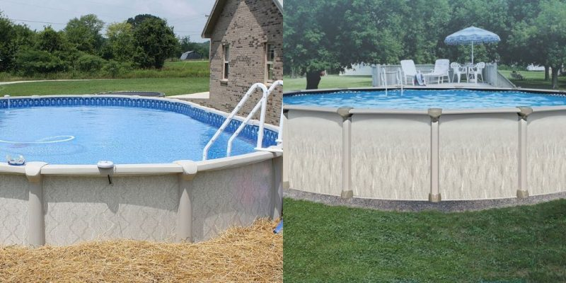 Permanent Above Ground Pool