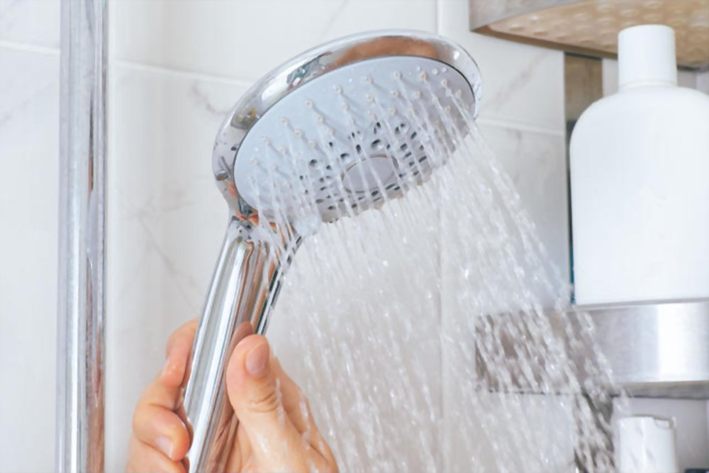 Massaging Shower Head