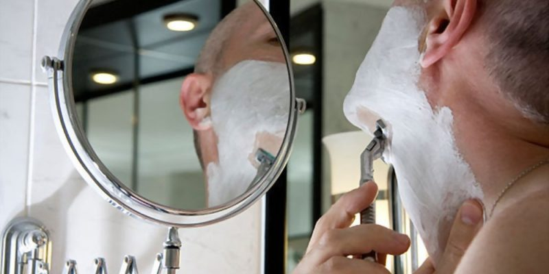 Shower Shaving Mirror