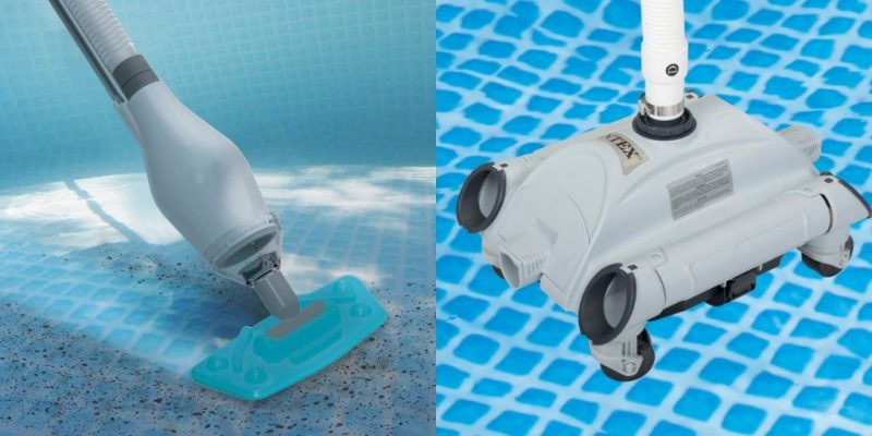 Vacuum for Intex Above Ground Pool