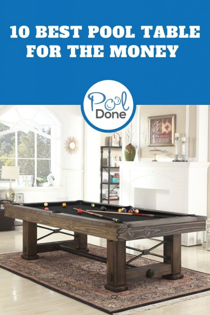 Pool Table for The Money