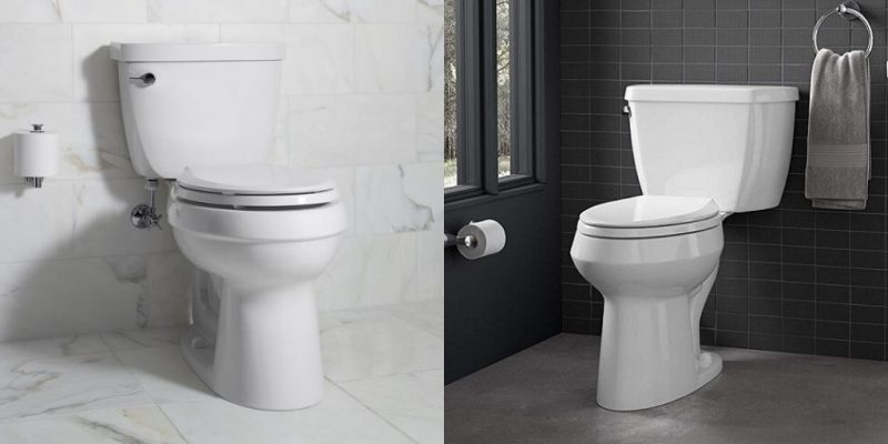 Kohler Highline vs Cimarron Toilet