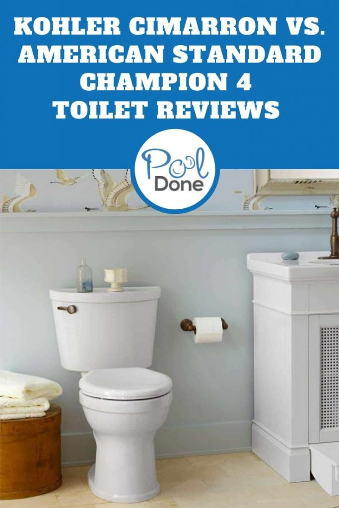 Kohler Cimarron vs. American Standard Champion 4 Toilet Reviews